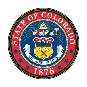 seal of american state of colorado